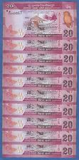 10 Notes ! Sri Lanka 20 Rupees P 123 2010 UNC Low Shipping! Combine FREE!