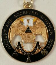 Freemason Scottish Rite 32nd Degree Key Chain