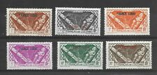 Oceanic Settlements SG 140/48 Set of 6 Over Print FRANCE LIBRE (Ref 0053)
