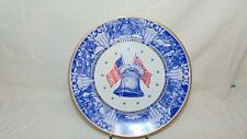 1976 The Struggle For Independence Plate Limited Edition Alvin Fine China