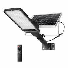 100w Solar Street Lights Outdoor Led Security Flood Light Motion Sensor Dusk