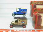 BO965-1 #2x Matchbox Y-12 Van Ford Model T: Rosella + Motor 100, VG Box