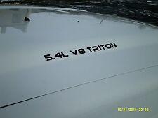 Triton V8 graphic sticker emblem vinyl decal