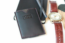 Ezgo Ultra Slim Wallet - Premium Handmade Genuine Leather with RFID Protection