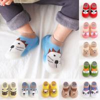 Winter Warm Kids Girl Boys Toddler Anti-slip Slippers Socks Cotton Shoes Soft