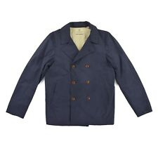 SCOTCH & SODA Herren Jacke L 52 Mantel blau Trenchcoat TAILOR-MADE Jacket TOP
