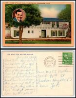 CALIFORNIA Postcard - Brentwood Highlands, Home Of Clark Gable O31