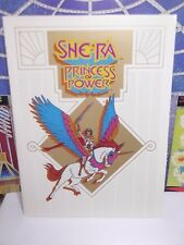 Vintage PRINCESS OF POWER SHE-RA FILMATION PRESS RELEASE lot motu Secret sword
