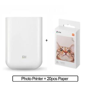 Xiaomi mijia AR Printer 300dpi Portable Photo Mini Pocket With DIY Share 500mAh