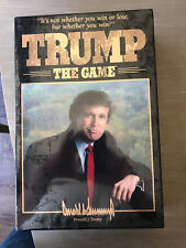 President Donald Trump The Game Sealed Brand New 1989 Board Game Milton Bradley