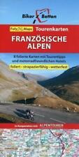 Biker Betten - Französische Alpen 1 : 250 000 (2015, Karte)