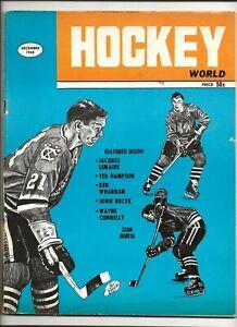 1968 December Hockey World Stan Mikita Chicago Black Hawks