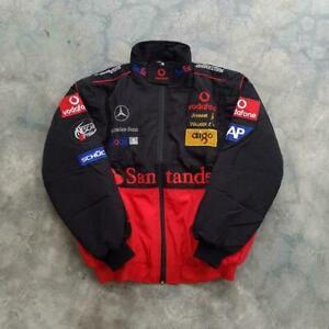 Santander Mercedes Benz McLaren retro racing jacket 2021 several sizes