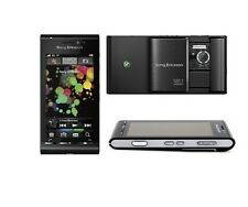 Sony Ericsson Satio U1i Black(Unlocked) Cellular Phone Camera 12MP Free Shipping