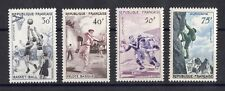 """FRANCE: SERIE COMPLETE DE 5 TIMBRES """"SERIE SPORTIVE"""" NEUF** YTN°1072/1075 C: 26€"""