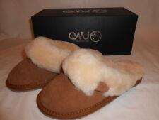 Emu Australian Sheepskin Jolie W10015 New Womens Chestnut Slipper Shoes Size 6