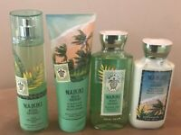 Bath & Body Works Waikiki Beach Coconut Ultra Shea Body Cream Mist Pick 1 NEW
