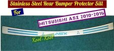 Hi Quality S Steel OUTER Rear Bumper Protector Sill for Mitsubishi ASX 2010-2016