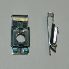 10 St. schmale U-Clip Mutter M6 Stahl Käfigmutter Federmutter Verkleidungsmutter