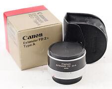 Canon Extender 2x-A TELE-FD Converter Lens (2882)