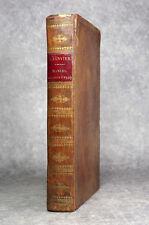 JANVIER ANTIDE. MANUEL CHRONOMÉTRIQUE. FIRMIN DIDOT. 1821. HORLOGERIE. HOROLOGY