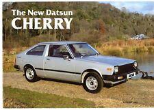 Datsun Nissan Cherry Early-Mid 1982 UK Market Sales Brochure 1.0 1.3