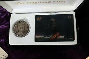 Highland Mint Limited Edition Brett Favre Motion Vision Set #1680/2500  LOOK