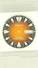 SEIKO SHARPTOOTH MONSTER SRP311 ORANGE DIAL 4R36-01J0 SUNBURST FANG ORIGINAL