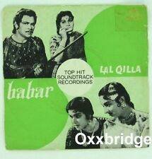 MOHD RAFI Babar/Lal Qilla RARE 1962 BOLLYWOOD India Hindi OST Sudha Malhotra EP