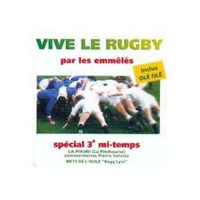 CD ALBUM VIVE LE RUGBY PAR LES EMMELES-1993 REGG'LYSS PITCHOURIE