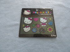 Hello Kitty Body Jewelry Sticker 12 pcs ~ New ~ Fast Shipping!