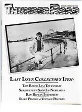Bruce Springsteen - Thunder Road - Rare 1982 Fanzine Last double issue 6-7