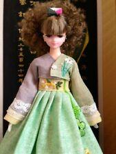 OOAK AeYin Korean Barbie Jenny size Sonokong Hanbok Dress Korea DOLL