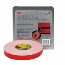 3M™ 06381 Double Sided Automotive 7/8 Inch x 60 Foot White Tape
