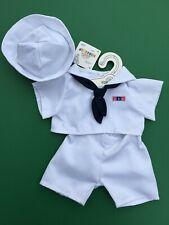 Build a Bear Clothing - New Military Sailor Uniform 3 pc.