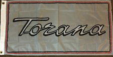 HOLDEN TORANA BAR FLAG LARGE 900MM X 450MM RARE PREMIUM QUALITY FLAG GTR A9X SLR
