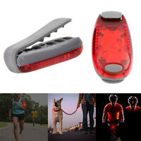 3 LED Clip Light for Running Bike Rear Lamp Cycling Jogging Safety Warning Torch