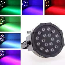18LED RGB PAR CAN DJ Stage Light DMX Lighting For Disco Party Wedding Uplighting