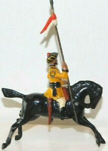 Old BRITAINS 1950s Lead, Indian Army Skinner's Horse Lancer, From Set #47