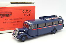 CCC 1/43 - Car Bus Citroen Type 45 Rally Mounted Carlo 1934