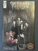 October Faction Issue #1 (IDW Comics) Steve Niles