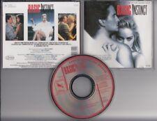 BASIC INSTINCT Soundtrack 1992 CD ORIGINAL  VARESE SARABANDE JERRY GOLDSMITH