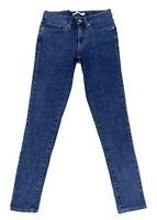 Levi's Women's 711 Skinny Jeans In Dark Wash Indigo