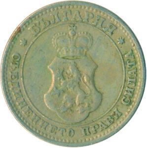 COIN / BULGARIA / 10 STOTINKI 1913  #WT6537