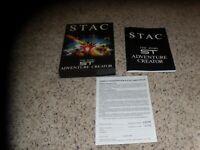 STAC Atari St - Box and manual only (no game)