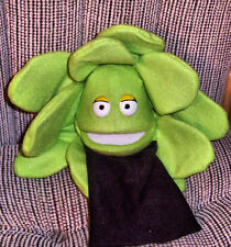 Blacklight Green Ventriloquist Lettuce Puppet-Ministry, Health, Vegetable