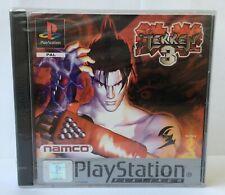 Tekken 3 (Playstation One) PS1 Factory Sealed Very Rare PAL NAMCO