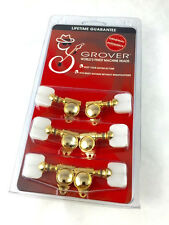 "Grover Gold/Pearloid ""Milk Bottle"" Rotomatic Tuners for Gibson® Guitar 103G"