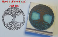 Celtic Tree Of Life rubber stamp by Amazing Arts beautiful!