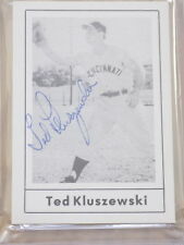 Ted Kluszewski Signed 1978 Grand Slam Baseball Card PSA DNA Cincinnati Reds